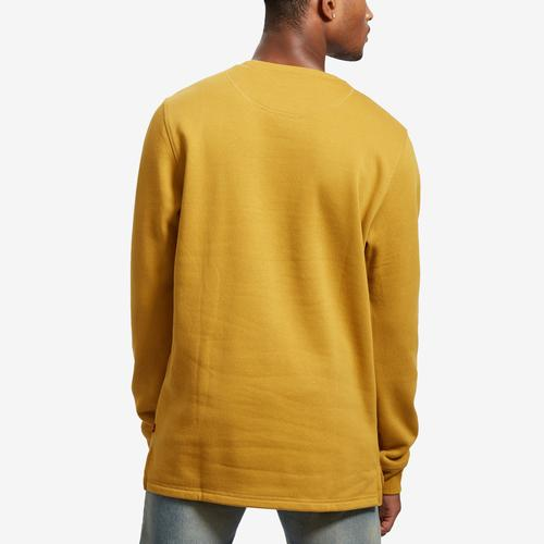 Back View of Levis Men's Umali Chenille Logo Crewneck