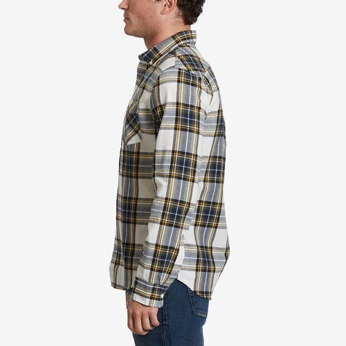 Left Side View of Levis Men's Holtby Flannel Shirt