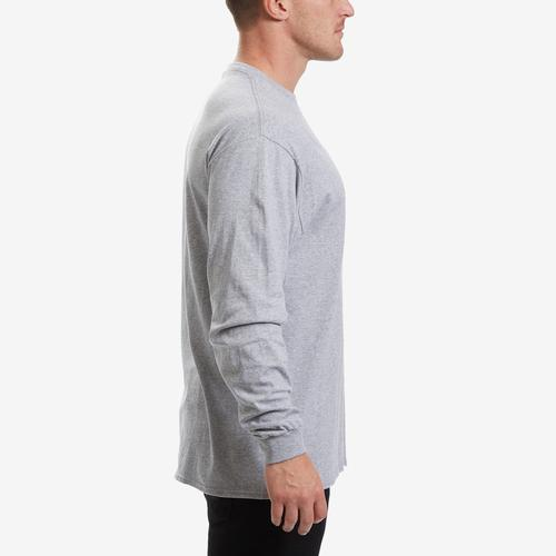 Right Side View of Levis Men's Long Sleeve Logo Tee