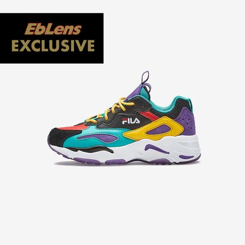 Left Side View of FILA Boy's Preschool FILA x EbLens Ray Tracer Sneakers