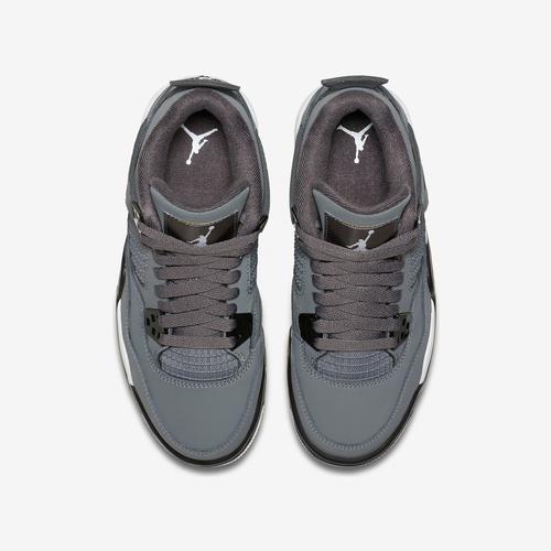 Bottom View of Jordan Boy's Grade School Air Jordan 4 Retro Sneakers