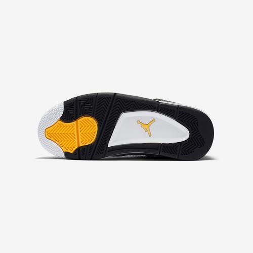 Top View of Jordan Boy's Grade School Air Jordan 4 Retro Sneakers