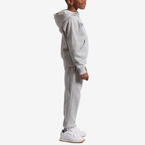 Right Side View of Champion Boy's Preschool Heritage Hoodie And Jogger Se