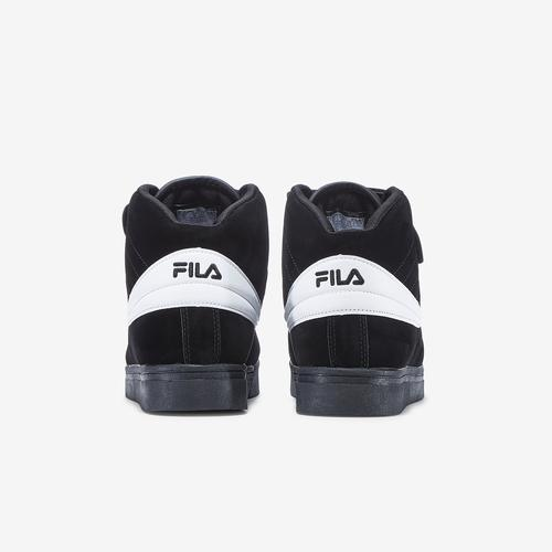 Back View of FILA Women's Vulc 13 Suede Sneakers
