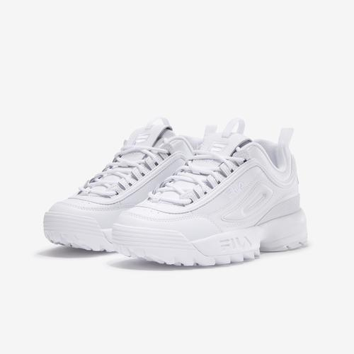 Side Angle View of FILA Women's Disruptor 2 Premium Sneakers