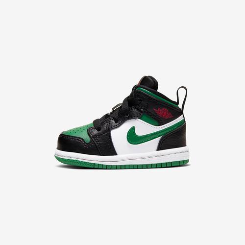 Left Side View of Jordan Boy's Toddler Air Jordan 1 Mid Sneakers