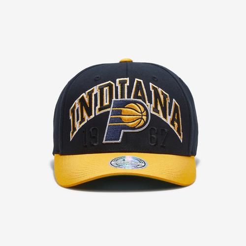 Mitchell + Ness Men's State Crop 110 Flex Snapback Indiana Pacers
