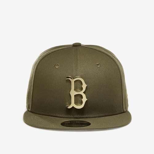 New Era Red Sox 9Fifty Snapback Metal Badge