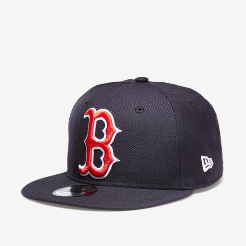 Front Right View of New Era Red Sox 9Fifty Snapback