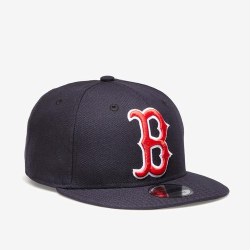 Front Left view of New Era Red Sox 9Fifty Snapback