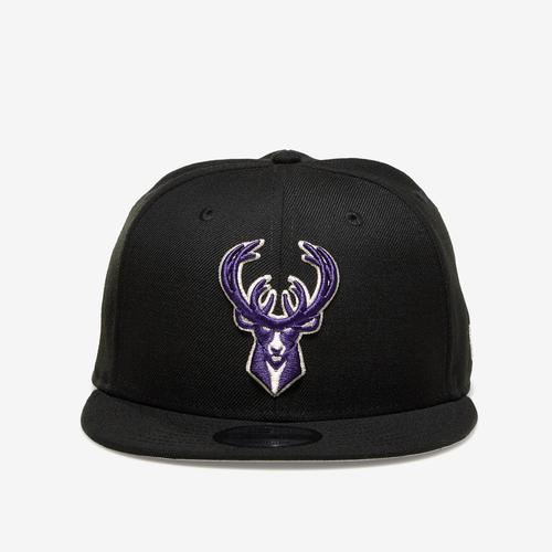 Front View of New Era Bucks 9Fifty Snapback