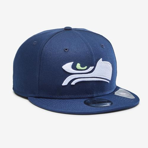 Front Left view of New Era Seahawks 9Fifty Snapback