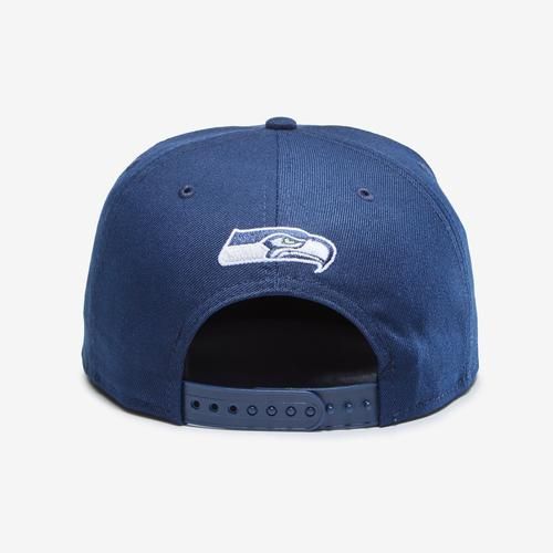 Back view of New Era Seahawks 9Fifty Snapback