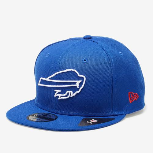 Front Right View of New Era Bills 9Fifty Snapback