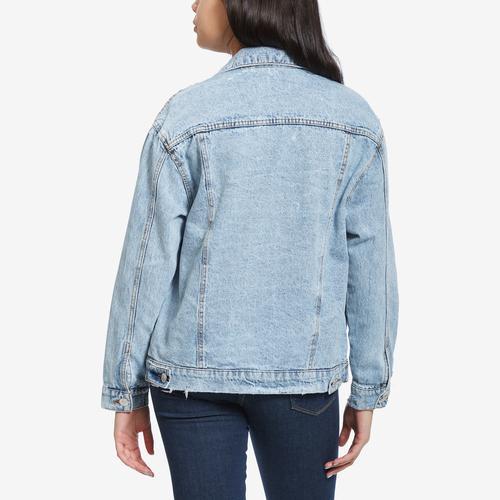 Highway Jeans Women's Destructed Denim Jacket