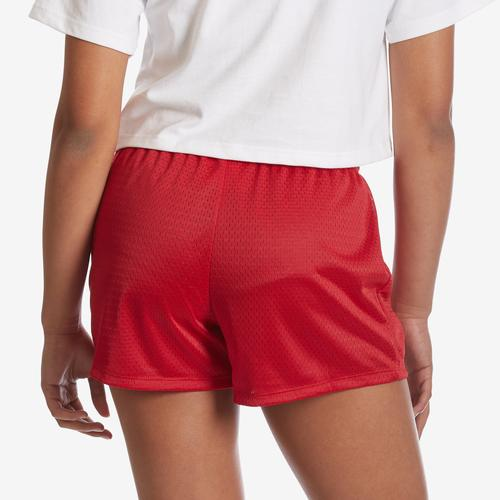 Back View of Champion Women's Mesh Shorts