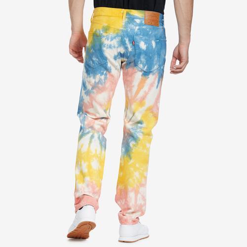 Levis Men's 501 '93 Straight Tie Dye Jeans