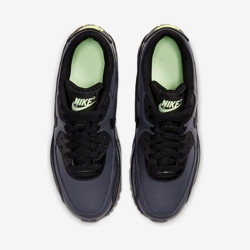 Bottom View of Nike Boy's Grade School Air Max 90 Leather Sneakers