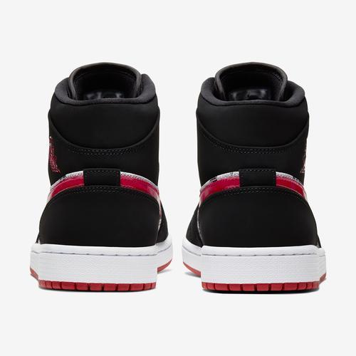 Back View of Jordan Men's Air Jordan 1 Mid SE Sneakers