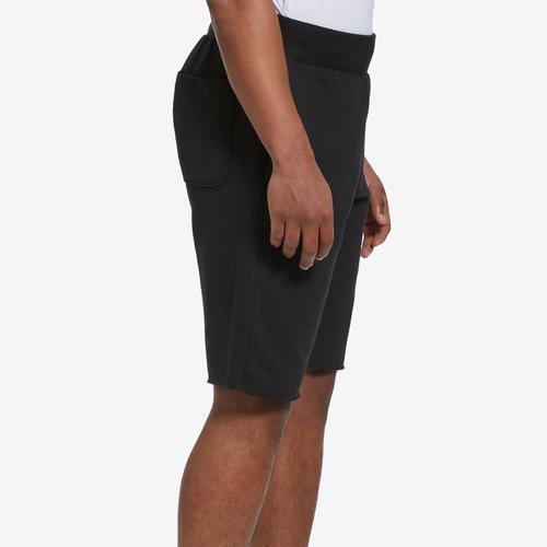 Left Side View of Champion Men's Reverse Weave Cut-Off Shorts