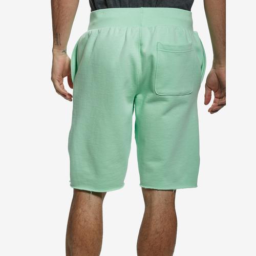 Back View of Champion Men's Cut Off Fleece Shorts