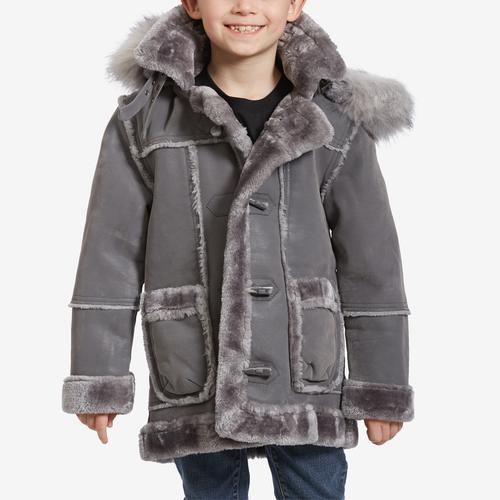 Front View of Jordan Craig Boy's Preschool Denali Shearling Jacket