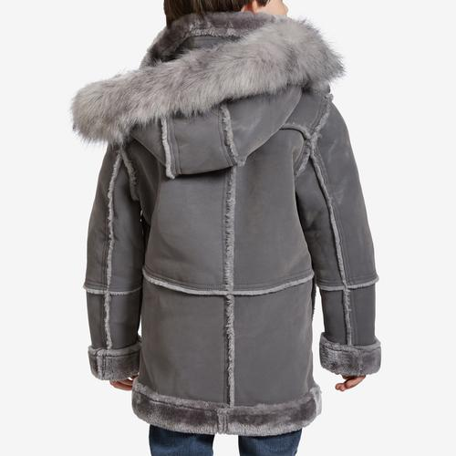 Back View of Jordan Craig Boy's Preschool Denali Shearling Jacket
