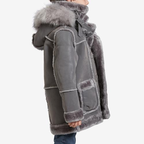 Right Side View of Jordan Craig Boy's Preschool Denali Shearling Jacket
