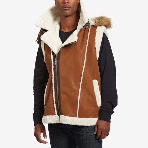 Front View of Jordan Craig Men's Denali Shearling Vest