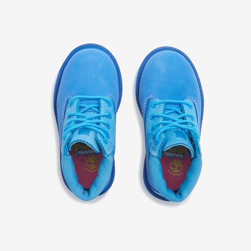 Bottom View of Timberland Boy's Infant SpongeBob x Timberland 6-Inch Waterproof Boots Sneakers