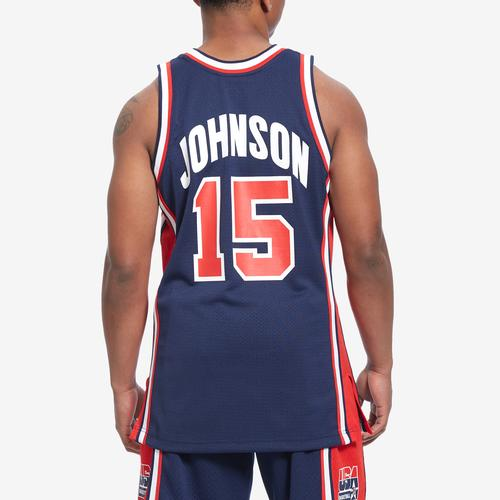 Mitchell + Ness Authentic Jersey Team USA 1992 Magic Johnson