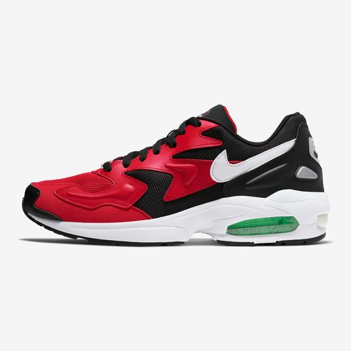 Left Side View of Nike Men's Air Max2 Light Sneakers