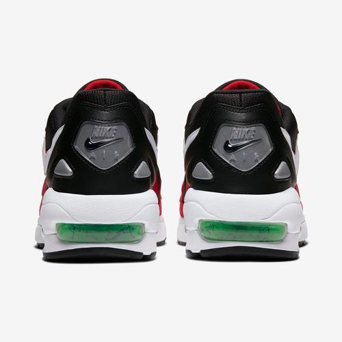 Back View of Nike Men's Air Max2 Light Sneakers