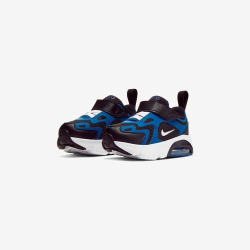 Side Angle View of Nike Boy's Toddler Air Max 200 Sneakers