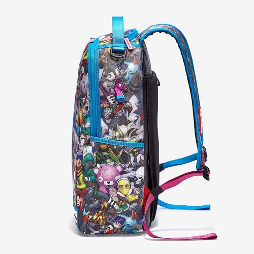 Front Left view of Sprayground Fortnite Backpack