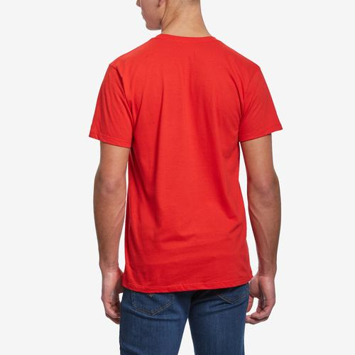 Back View of Baws Men's Angry Baws T-Shirt