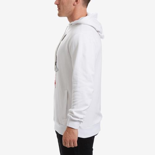 Left Side View of BKYS Men's Lucky Charm Hoodie