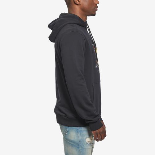 Left Side View of BKYS Men's Steal Heart Pullover Hoodie
