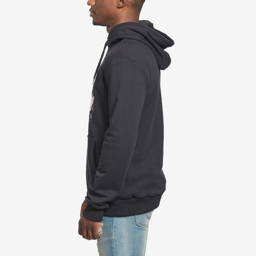 Right Side View of BKYS Men's Steal Heart Pullover Hoodie