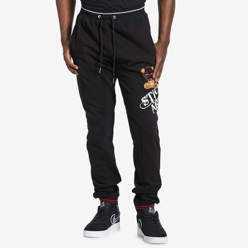 Front View of BKYS Men's Stickup Artist Jogger