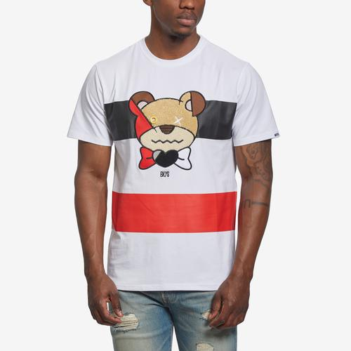 Front View of BKYS Men's Preppy T-Shirt