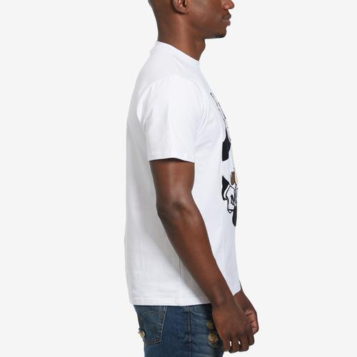 Right Side View of BKYS Men's Tricky T-Shirt