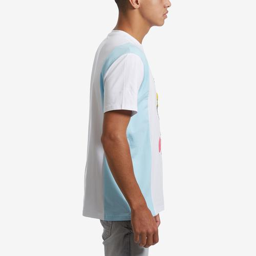 Right Side View of BKYS Men's Serious Cream T-Shirt