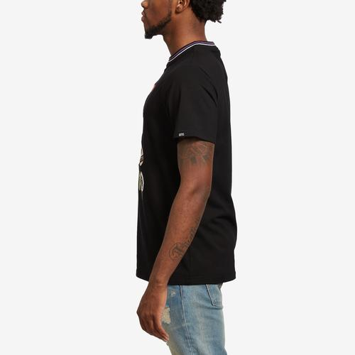 Left Side View of BKYS Men's Drippo T-Shirt