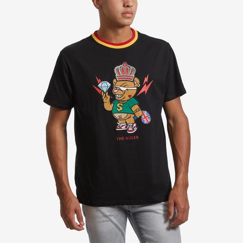 Front View of BKYS Men's The Ruler T-Shirt