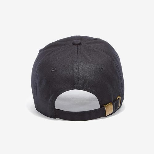 Back view of Baws Blackout Gold Hat
