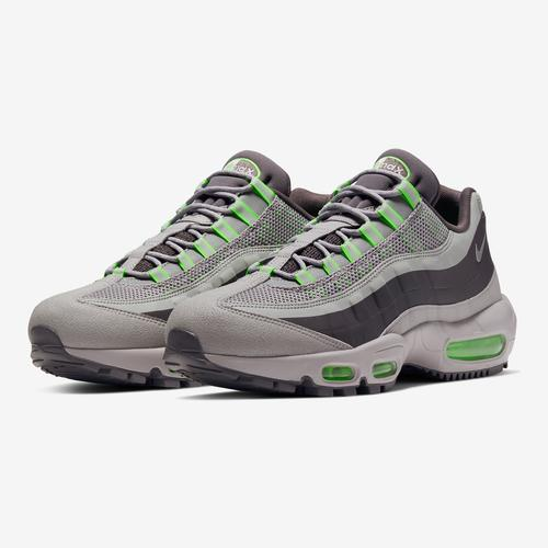 Side Angle View of Nike Men's Air Max 95 Utility Sneakers