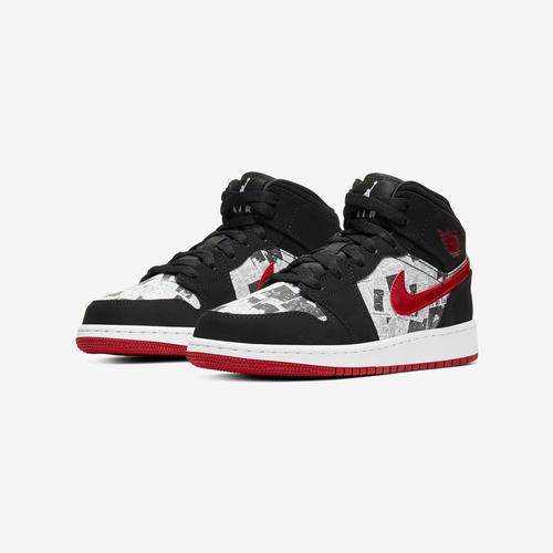 Jordan Boy's Grade School Air Jordan 1 Mid SE