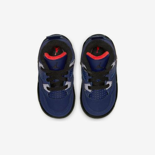 Bottom View of Jordan Boy's Toddler 4 Retro Sneakers