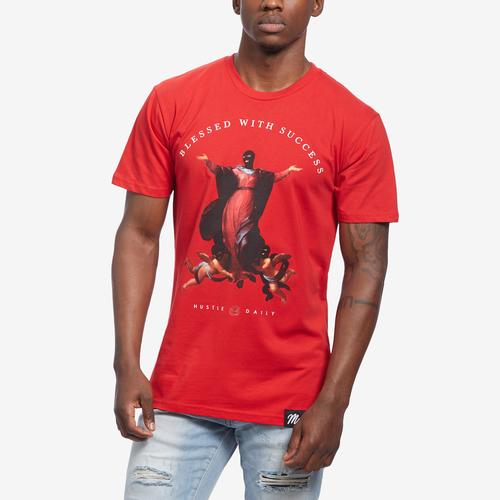 Front View of Hasta Muerte Men's Blessed Thieves 11 T-Shirt